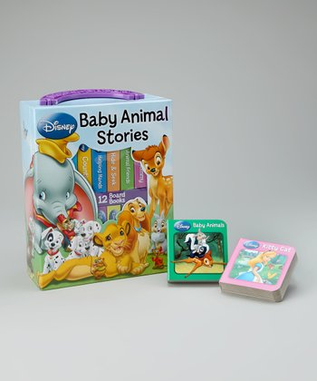 Baby Animals My First Library Board Book Set