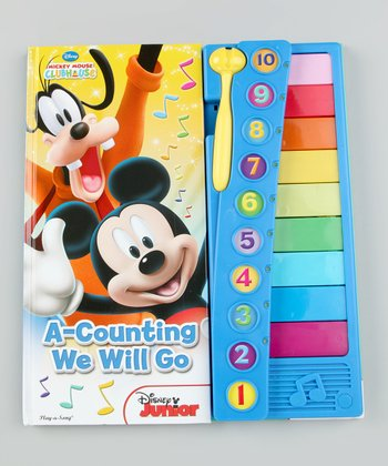 Mickey Mouse Clubhouse A-Counting We Will Go Hardcover