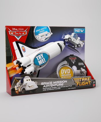 Cars Take Flight Space Mission Adventure Set