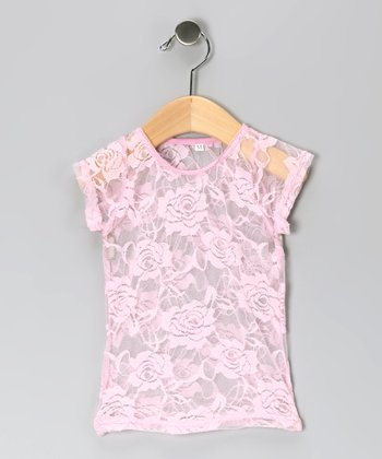 Pink Lace Top - Infant