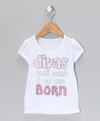 White 'Divas Aren't Made' Tee - Infant, Toddler & Girls