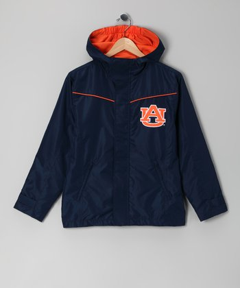 Division 1 Navy Auburn Tigers Jacket - Kids