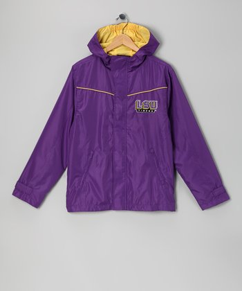Division 1 Purple Louisiana State Tigers Jacket - Kids