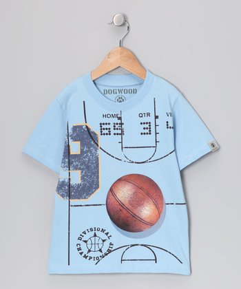 Sky Basketball Court Tee - Infant & Toddler