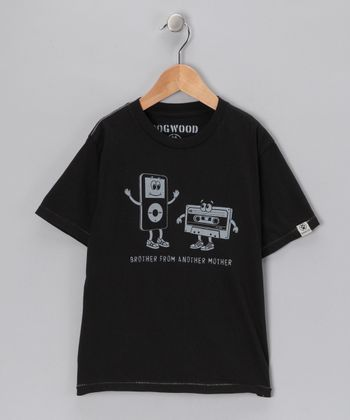 Black 'Brother From Another' Tee - Toddler & Boys