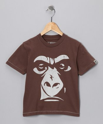 Cocoa Gorilla Tee - Infant, Toddler & Boys