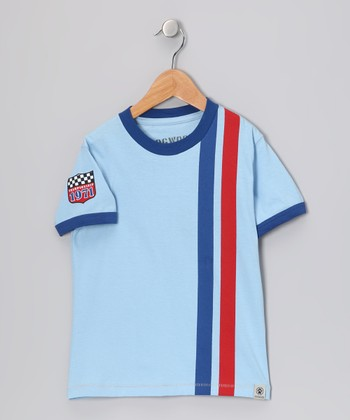 Sky Racing Stripe Tee - Infant, Toddler & Boys