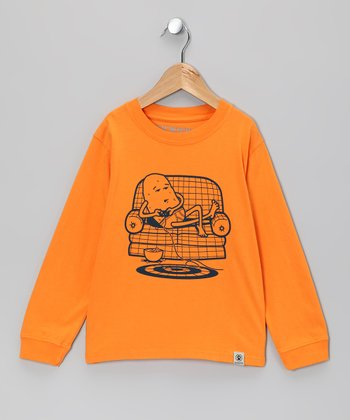 Orange Couch Potato Tee - Infant, Toddler & Boys