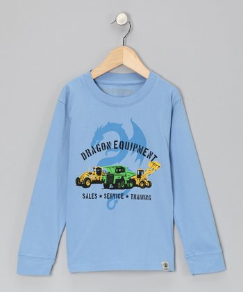 Blue 'Dragon Equipment' Tee - Infant & Boys