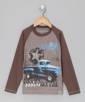Cocoa Truck Raglan Tee - Infant, Toddler & Boys