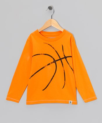 Orange Basketball Tee - Infant, Toddler & Boys