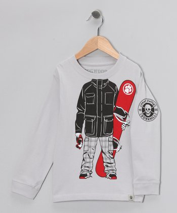 Clay Snowboarder Tee - Infant, Toddler & Boys