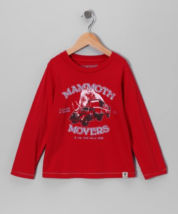 Red 'Mammoth Movers' Tee - Infant & Toddler