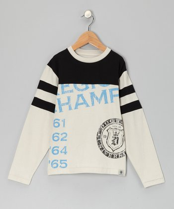 Stone & Black 'Champs' Tee - Toddler & Boys