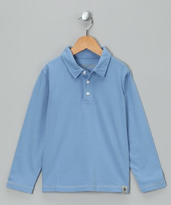 Chambray Polo - Infant, Toddler & Boys