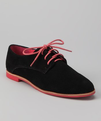 DV by Dolce Vita Black Suede Mina Oxford