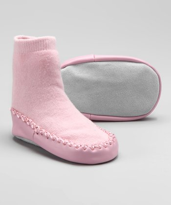 Pink Slipper Sock