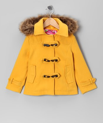 Marigold Toggle Coat - Girls