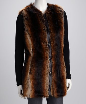 Tanuki Faux Fur Vest - Women & Plus