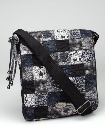 Nightingale Patch Messenger Bag