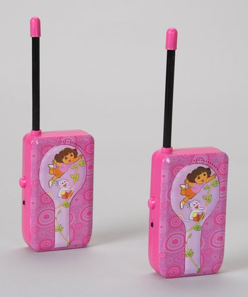 Dora the Explorer Walkie-Talkie Set