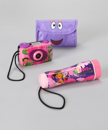 Dora Camera & Flashlight Set