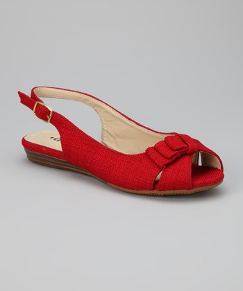 Red Academic Sandal