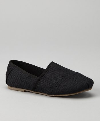 Black Estonia Slip-On Shoe