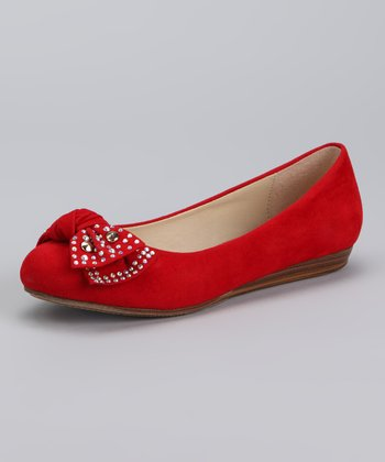 Red Jerry Ballet Flat