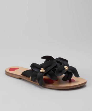 Black Love Story Sandal