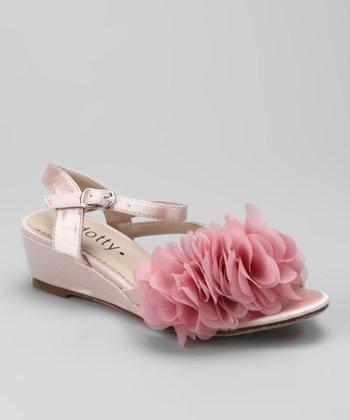 Pink Natala Wedge Sandal