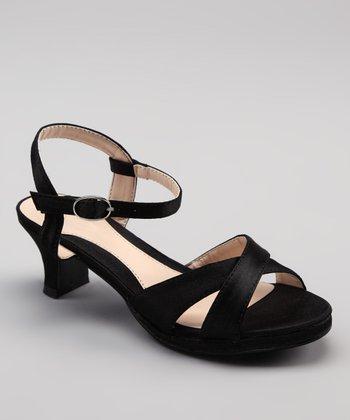 Black Qubo Sandal