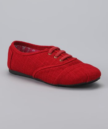 Red Trophy Sneaker