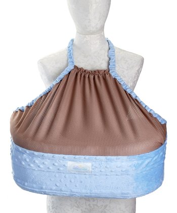 Blue San Diego Bebe Eco-Nursing Pillow
