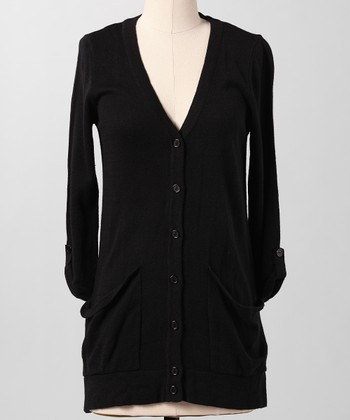 Black Water Cooler Cardigan