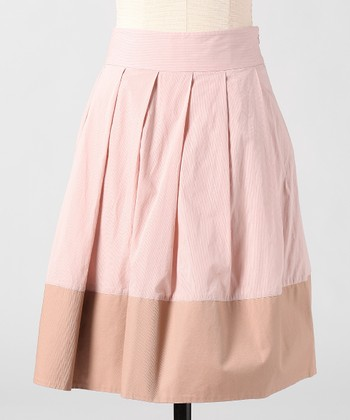 Rose Dust Two Tone Skirt