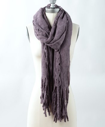 Lavender Fall Shadows Scarf