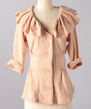 Frappe Fashion Relic Funnel Collar Jacket