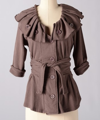 Sparrow Fashion Relic Funnel Collar Jacket