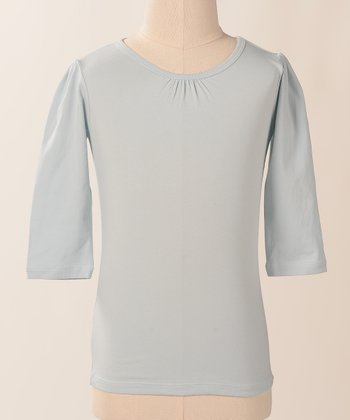 Baby Blue Jane Tee - Kids
