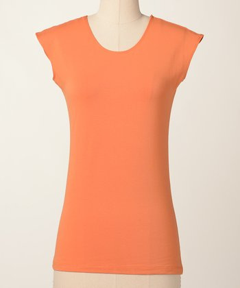 Topaz Favorite Cap-Sleeve Top