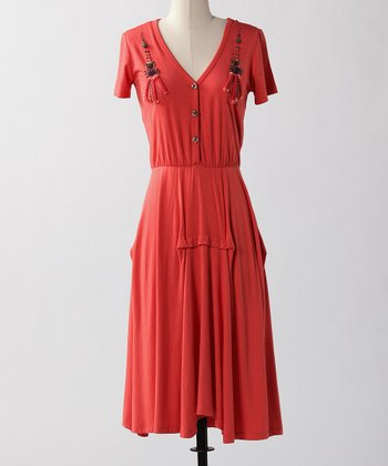 Burnt Sienna Boony Doon Dress