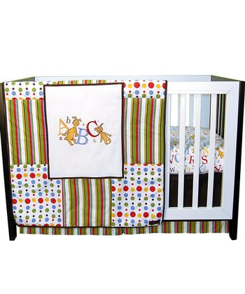 'ABC' Crib Bedding Set