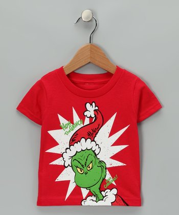Red 'How the Grinch Stole Christmas' Tee - Infant & Toddler
