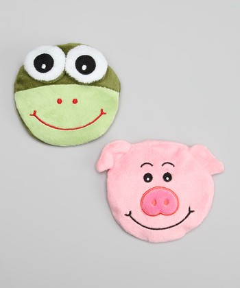 Pig & Frog Gel Pack Set