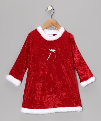 Red Holiday Nightgown - Toddler