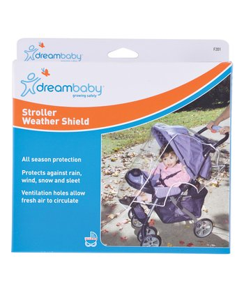 Clear Stroller Weather Shield