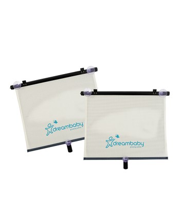 Dreambaby Wide Car Window Roller Shade - Set of Two