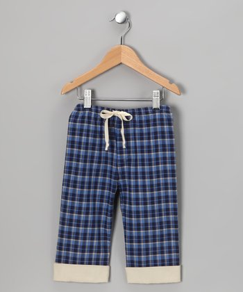 Blue Plaid Pants - Infant, Toddler & Boys
