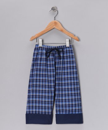 Navy Plaid Pants - Infant, Toddler & Boys